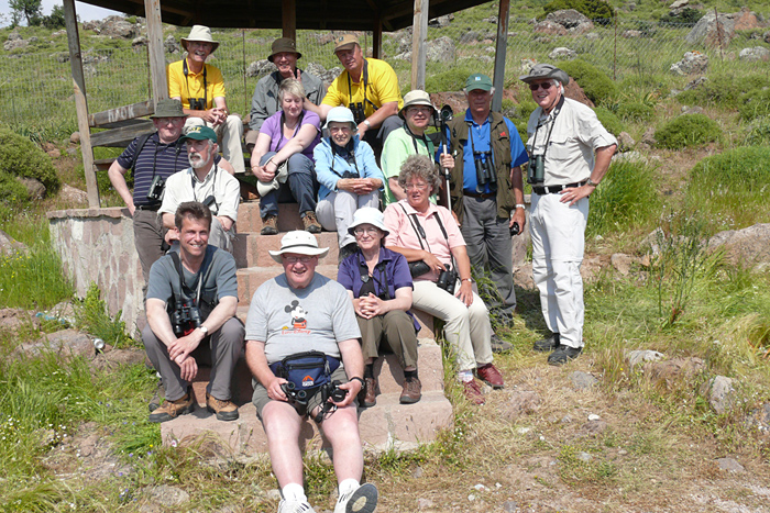 Birdfinders group on Lesvos