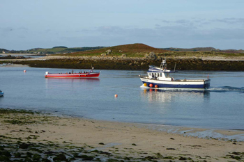 Boats on Scilly