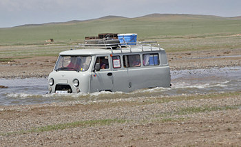 Mongolian transport