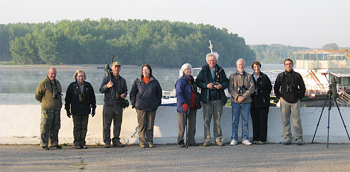 Birdfinders' group at Constansa